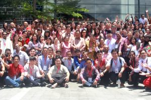 Participants of the Asian Ecumenical Youth Assembly, Manado, Indonesia