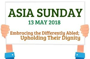 Asia Sunday 2018 - Banner Sample