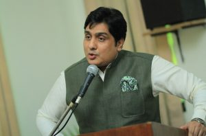 Barrister Aamir Hasan- Representative of Pakistan People's Party