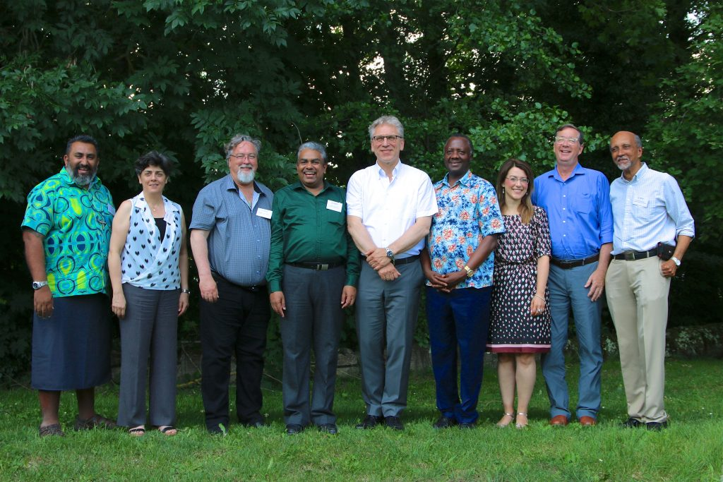 Leaders of eight regional ecumenical organizations are meeting with the World Council of Churches (WCC) at the Bossey Ecumenical Institute on 2-4 July. In addition to the WCC, organizations represented include the All Africa Conference of Churches; Christian Conference of Asia; Caribbean Conference of Churches; Conference of European Churches; Canadian Council of Churches; Middle East Council of Churches; National Council of the Churches of Christ in the USA and Pacific Conference of Churches.